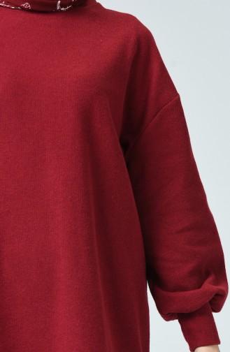 Basic Tunic Bordeaux 1396-03