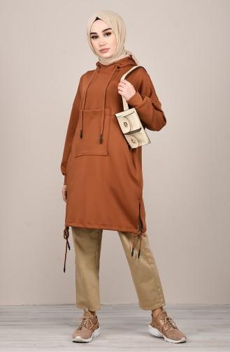 Tobacco Brown Tunic 1032-01