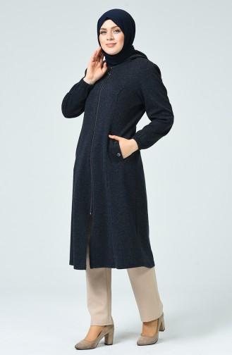 Navy Blue Mantel 1245-01