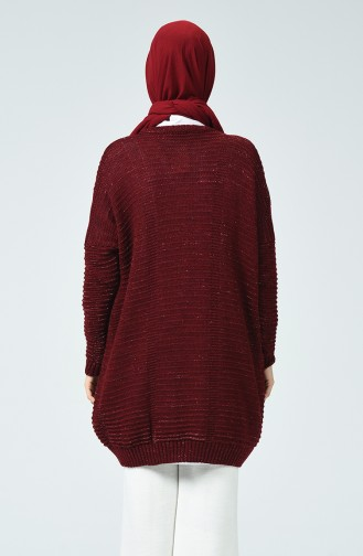 Tricot Silvery Sweater Bordeaux 1936-03