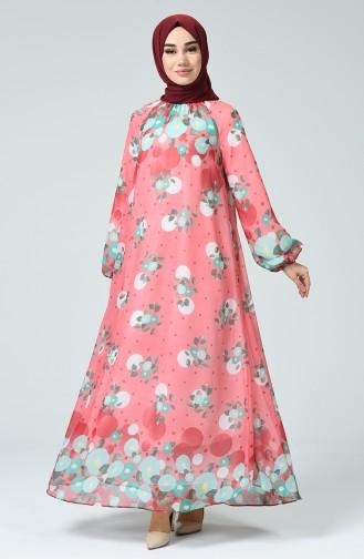 Robe Hijab Corail 7252-03