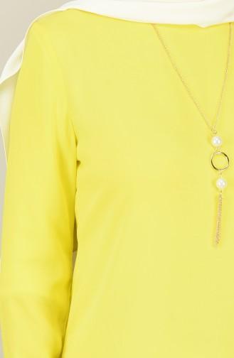 تونيك سادة أصفر 8066-16