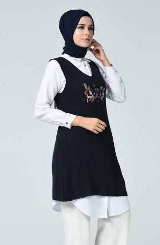 Navy Blue Sweater 0014-04