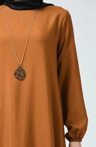 فستان أخضر تبغ 1207-07