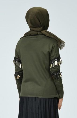 Khaki Pullover 11218-04