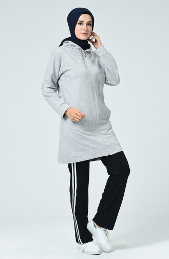 Grau Jogginganzüge 30090-01