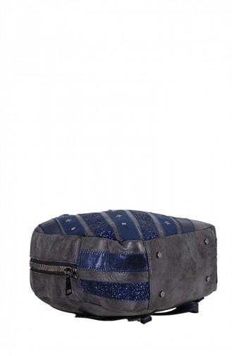 Santa Polo 04013 Bleu Marine Sac à Dos 6004013126912