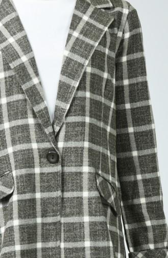 Tasche-Detaillierte Jacke 2850-02 Braun 2850-02