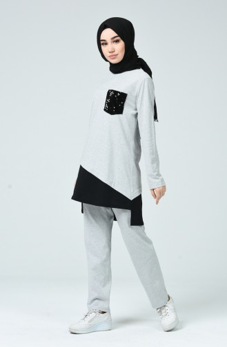 Gray Tracksuit 9251-04