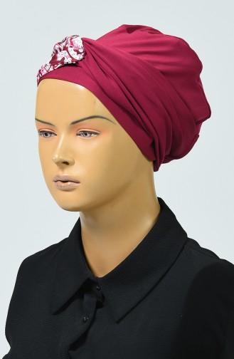 Maillot de Bain Hijab à Motifs 344-04 Plum 344-03 4