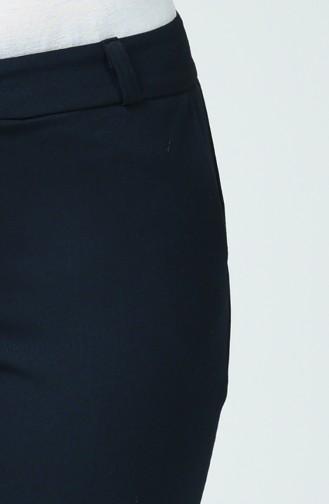Pantalon avec Poches 1259PNT-01 Bleu Marine 1259PNT-01
