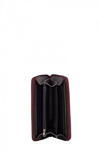 Biggi 0981 Portefeuille Femme Bordeaux 100981132934