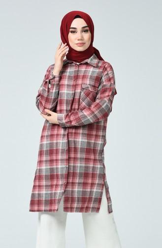 Claret red Shirt 5282-02