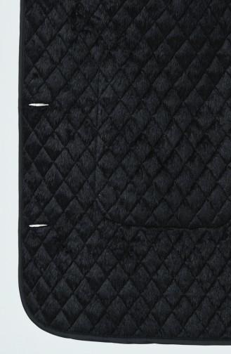 Manteaux Matelassé a Motifs Grande Taille 0824-03 Noir 0824-03