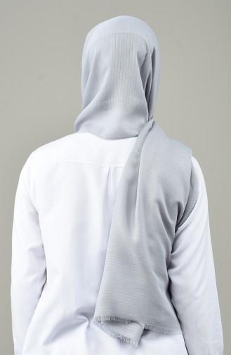 Light Gray Sjaal 13158-22