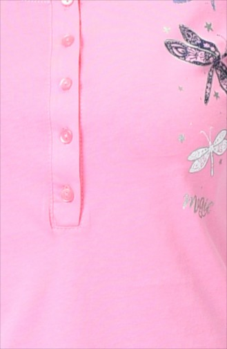 Ensemble Pyjama à Manches Longues Pour Femme 905107-B Rose 905107-B