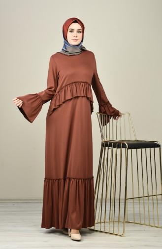 Braun Hijap Kleider 8086-05