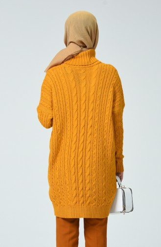 Tricot Long Sweater Mustard 1939-06