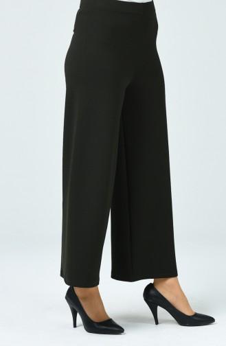 Pantalon Large élastique 5010-04 Vert Foncé 5010-04