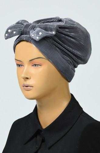 Bonnet Avec Noeud 7003-01 Fumé 7003-01