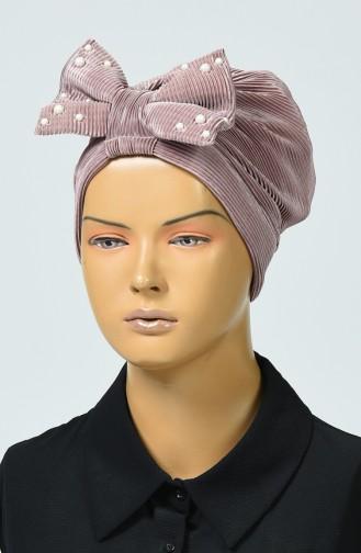 Bonnet avec Noeud 7003-09 Vison 7003-09