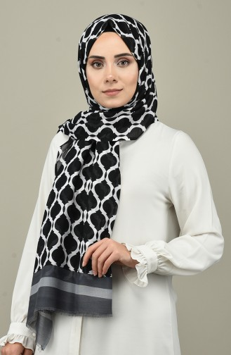 Gray Shawl 620-105