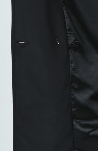 Black Trench Coats Models 0049-01