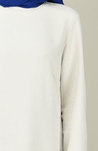 Gray Blouse 1233-01