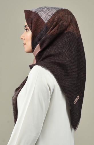 Karaca Wool Scarf Black Rose Dried 90653-10