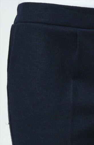 Pantalon avec Poches 0881A-07 Bleu Marine 0881A-06