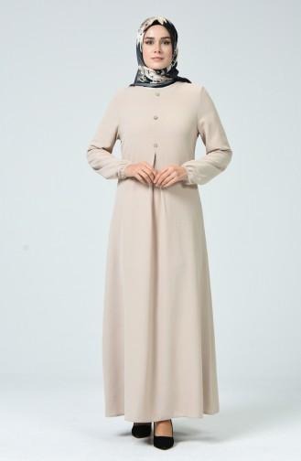 Kleid aus Aeroben-Stoff 0050-02 Beige 0050-02