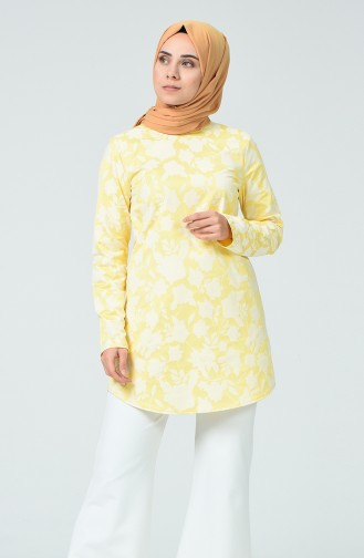 Yellow Blouse 1235BLZ-02