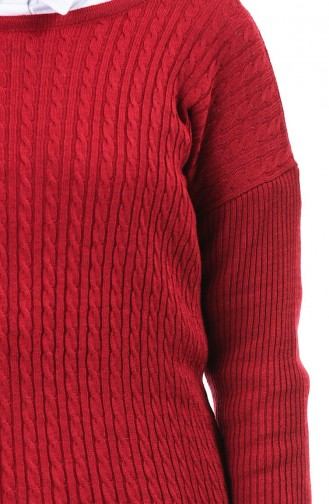 Weinrot Pullover 0509-02
