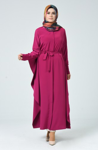 Fuchsia Abaya 1075-03