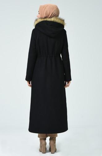 Black Lange Jas 6836-01
