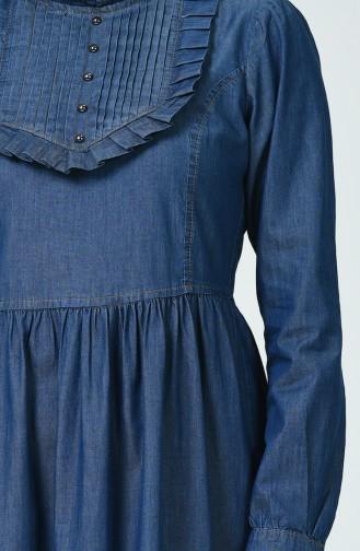 فستان أزرق كحلي 9280-01