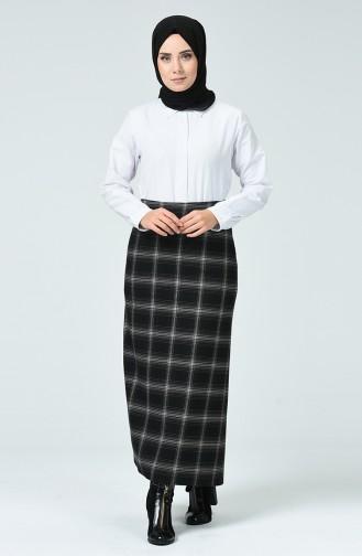 تنورة أسود 2058-01