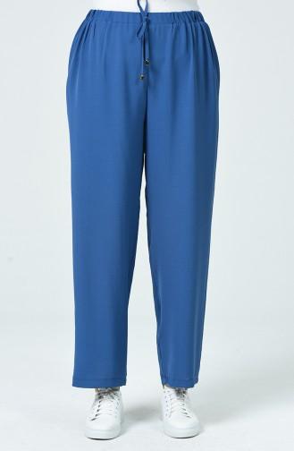 Pantalon Élastique Tissu Aerobin 0054-01 İndigo 0054-01