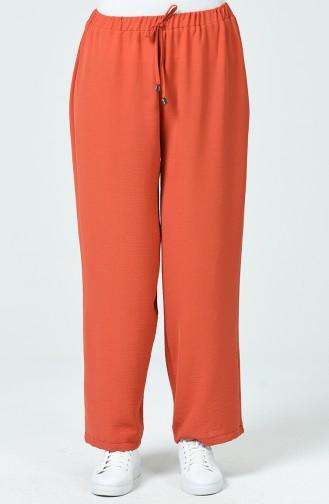 Pantalon Élastique Tissu Aerobin 0054-02 Brique 0054-02