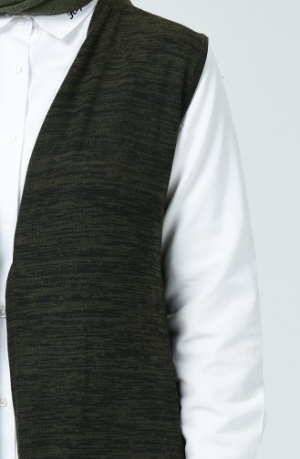 Dark Khaki Vest 1232-01