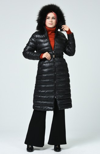 Black Winter Coat 4001-01