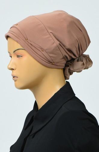 Bonnet avec Détail 7005-03 Beige 7005-03