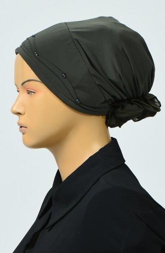 Bonnet avec Détail 7005-04 khaki 7005-04