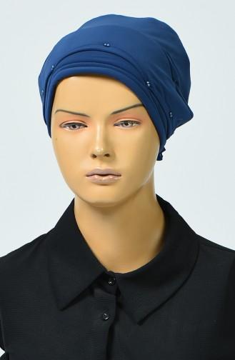 Bonnet avec Détail 7005-05 İndigo 7005-05