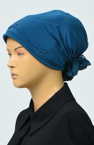 Bonnet avec Détail 7005-07 Pétrole 7005-07