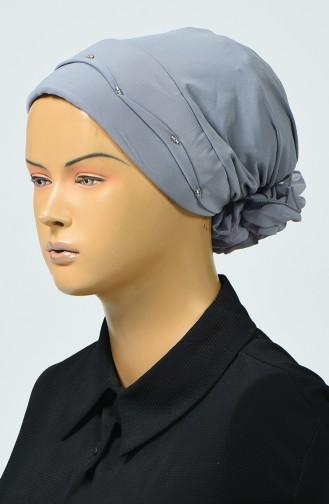 Bonnet avec Détail 7005-08 Gris 7005-08
