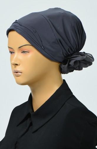 Bonnet avec Détail 7005-11 Fumé 7005-11