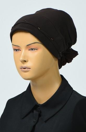 Bonnet avec Détail 7005-12 Brun 7005-12