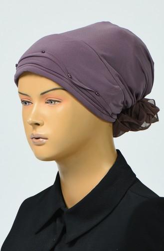 Bonnet avec Détail 7005-16 Rose Pâle 7005-16