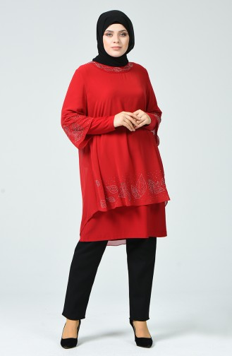 Red Blouse 2221-03
